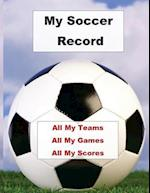 My Soccer Record