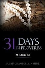 31 Days in Proverbs af Susan Chamberlain Shipe