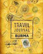 Travel Journal Burma af Vpjournals