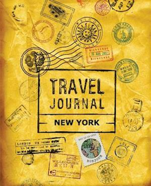 Bog, paperback Travel Journal New York
