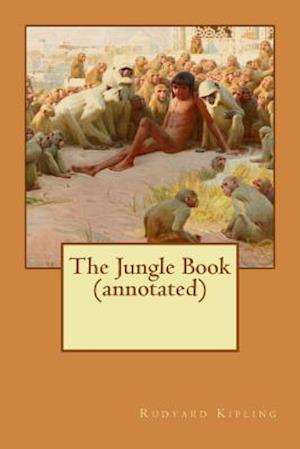 Bog, paperback The Jungle Book (Annotated) af Rudyard Kipling