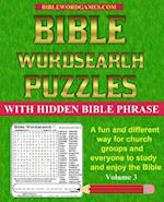 Bible Word Search Puzzles Volume 3
