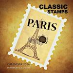 Classic Stamps Calendar 2016