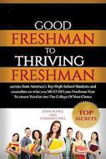 Good Freshman to Thriving Freshman af Chadney Hill, Joshua Hill