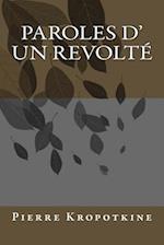Paroles D' Un Revolte