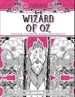 Coloring Books for Grownups Wizard of Oz af Vintage Coloring Books