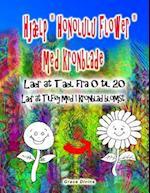 """Hjaelp """"Honolulu Flower"""" Med Kronblade Laer at Tael Fra 0 Til 20 Laer at Tilfoj Med 1 Kronblad Blomst"""