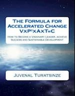 The Formula for Accelerated Change (Visionary People Together in Action Over Time Make Change)
