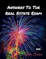 Answers to the Real Estate Exam