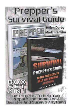 Bog, paperback Prepper's Survival Guide Box Set 2 in 1 af Helen Derby, Mark Franklin