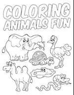 Coloring Animals Fun