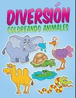 Diversion Coloreando Animales