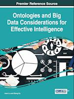 Ontologies and Big Data Considerations for Effective Intelligence