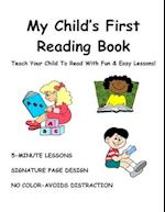My Child's First Reading Book