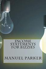 Income Statements for Bizzies