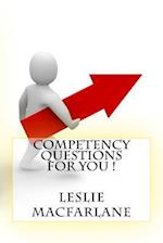 Competency Questions for You !