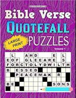 Bible Verse Quotefall Puzzles Vol.1