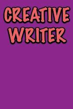 Creative Writer Journal af Active Creative Journals