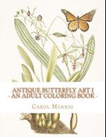 Antique Butterfly Art I
