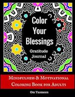 Color Your Blessings - Gratitude Journal