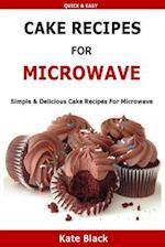 Cake Recipes for Microwave