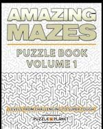 Amazing Mazes Puzzle Book - Mazes for Adults af Puzzle Planet