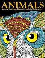 Animal Coloring Books for Adults Relaxation