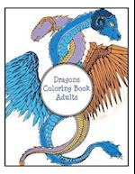 Dragons Coloring Book Adults