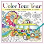 Color Your Year Wall Calendar 2018