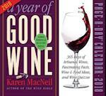 A Year of Good Wine 2018 Calendar
