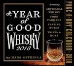 A Year of Good Whisky Page-A-Day Calendar 2018