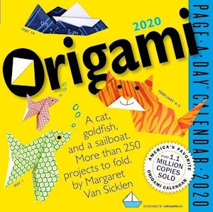 2020 Origami Colour Page-A-Day Calendar
