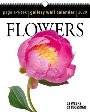 2020 Flowers Page-A-Week Gallery Wall Calendar