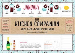 2020 the Kitchen Companion Page-A-Week Calendar