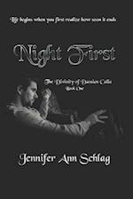 Night First af Jennifer Ann Schlag