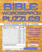 Bible Word Search Puzzles Volume 1