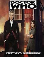 Doctor Who Creative Colouring Book