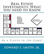 Real Estate Investments af Edward S. Smith Jr