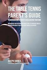 The Table Tennis Parent's Guide to Improved Nutrition by Accelerating Your Rmr
