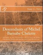Descendants of Michel Barnabe Chelette af Tony L. Vets