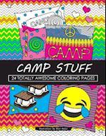 Camp Stuff 24 Page Coloring Book af Dani Kates