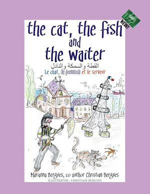 Bog, paperback The Cat, the Fish and the Waiter (Arabic Edition) af Marianna Bergues