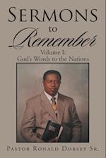 Sermons to Remember