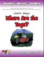 Level 2 Story 1-Where Are the Tags?: Awareness Of Laws That Protect Pets