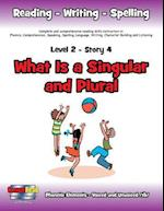 Level 2 Story 4-What is a Singular and Plural?: Everyone Needs One Special Friend