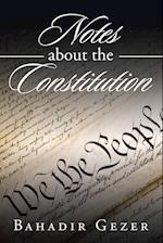 Notes about the Constitution af Bahadir Gezer