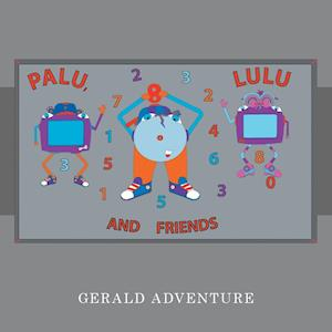 Bog, hæftet Palu, Lulu and Friends af Gerald Adventure
