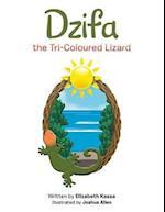 Dzifa the Tri-Coloured Lizard