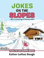 Jokes on the Slopes - With a Colouring in Therapy Twist!