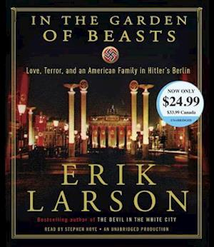 Lydbog, CD In the Garden of Beasts af Erik Larson